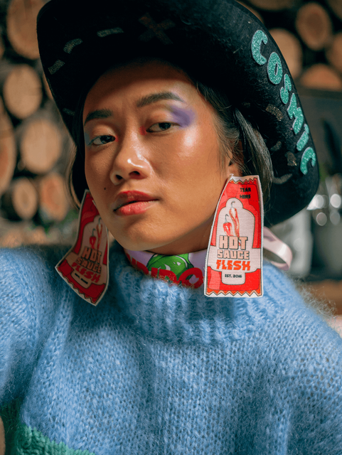 Flesh-earrings-accessories-clothing-prin