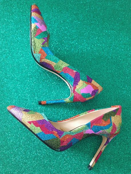 flesh-custom-order-glitter-sko-oslo-spes