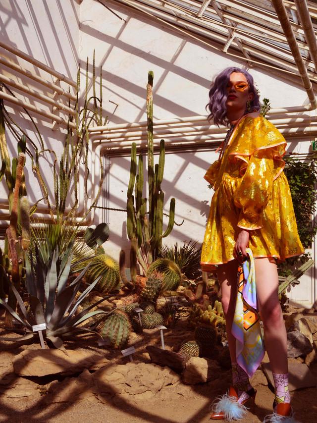 flesh-official-summer-yellow-dress-drag-