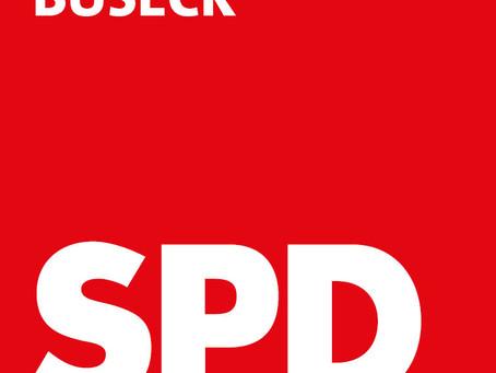 Einladung: Jahreshauptversammlung des SPD-Ortsvereins Buseck