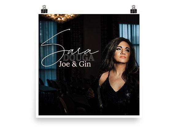 Joe & Gin Album Artwork Poster