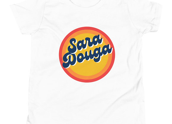 Sara Douga Sun Logo Youth Short Sleeve T-Shirt