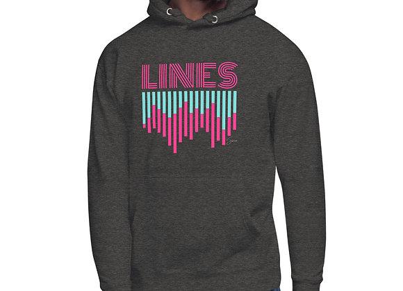 """""""LINES"""" Unisex Hoodie"""