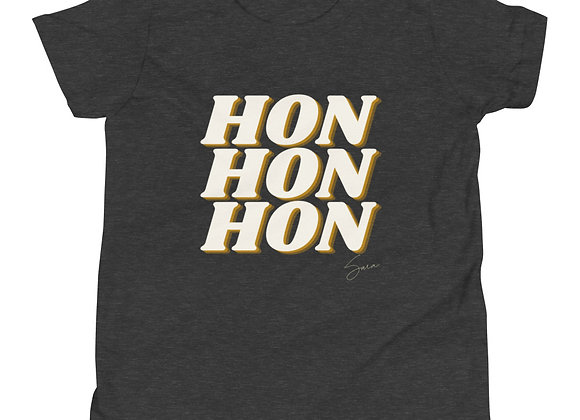 """""""Hon Hon Hon"""" Youth Short Sleeve T-Shirt"""