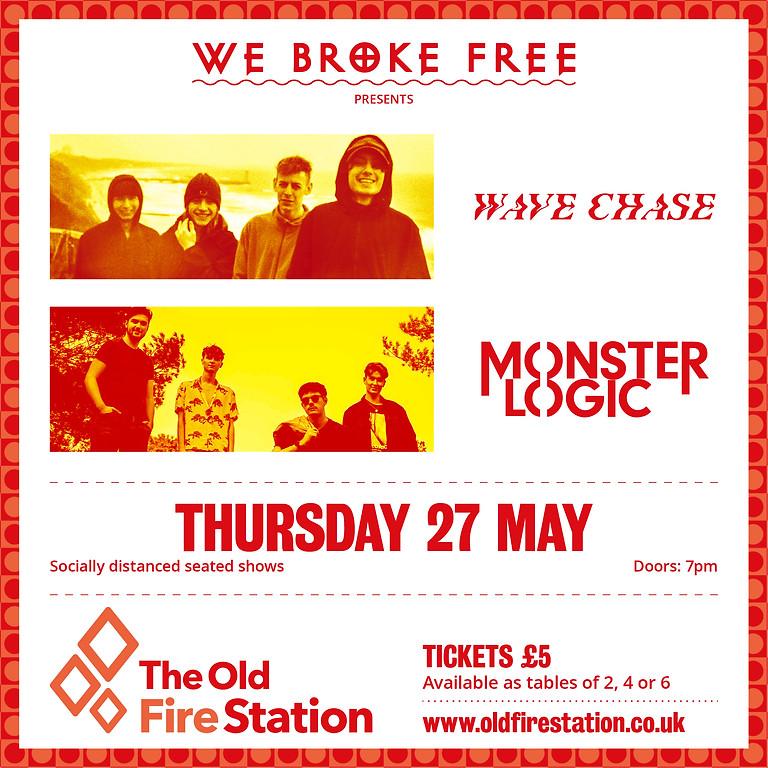 We Broke Free presents Wave Chase & Monster Logic