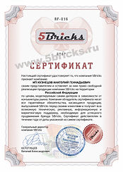 Representative 5bricsk certificate