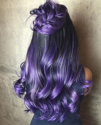 Vibrant purple with silver highlight on this beauty _#👌🏽 #hairbysarmad ._._._._._.jpg