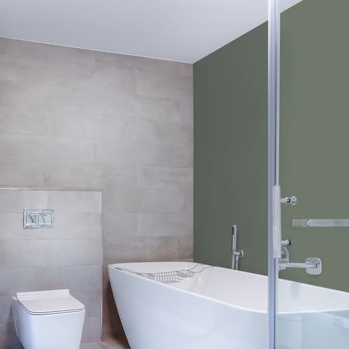 Современная ванная комната.