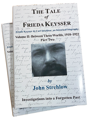 Front Cover, Volume 2 - Part one and two of The Tale of Frieda Keysser