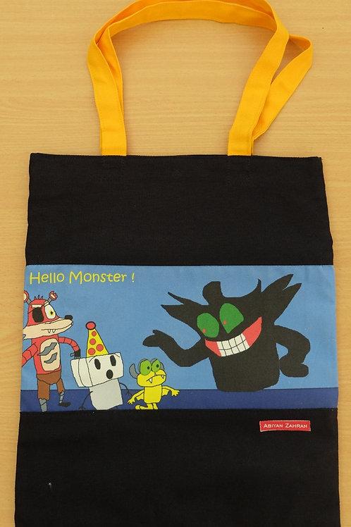 Tote Bag - Hello Monster