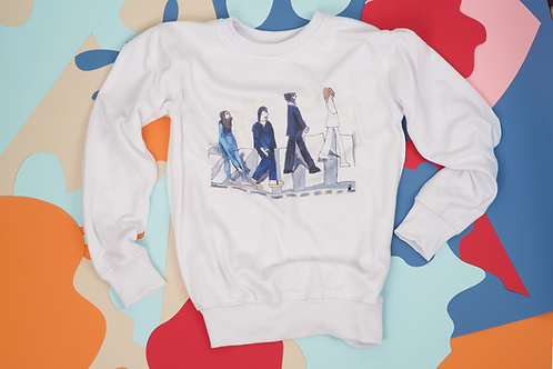 "Sweetshirt White ""The Beatles"""