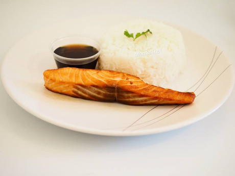 Dos de saumon mariné