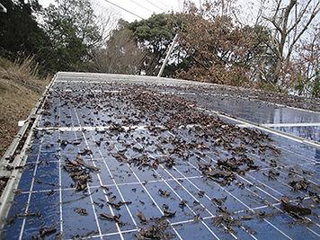 太陽光モジュール清掃