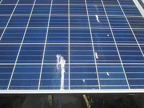 太陽光モジュール汚れ洗浄