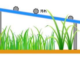 太陽光発電所の発電量が多くなる時期になる前に洗浄や雑草対策を