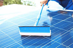 太陽光発電所パネル洗浄低価格