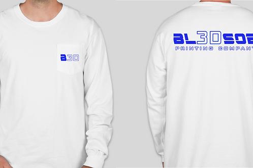 New logo long sleeve white