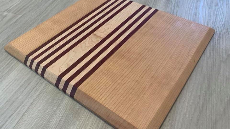 Multi-striped Cutting Board
