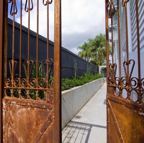 Wooloowin vintage gates
