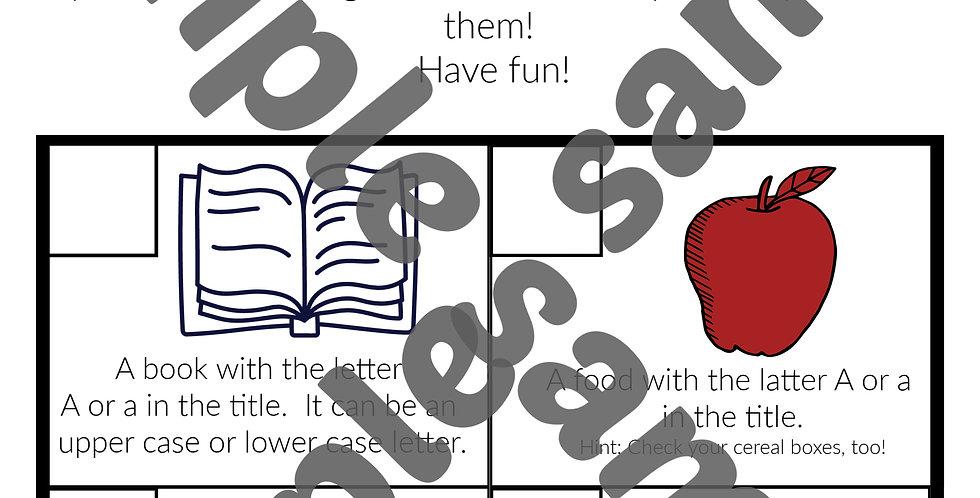 """Letter """"A"""" worksheet- Digital"""