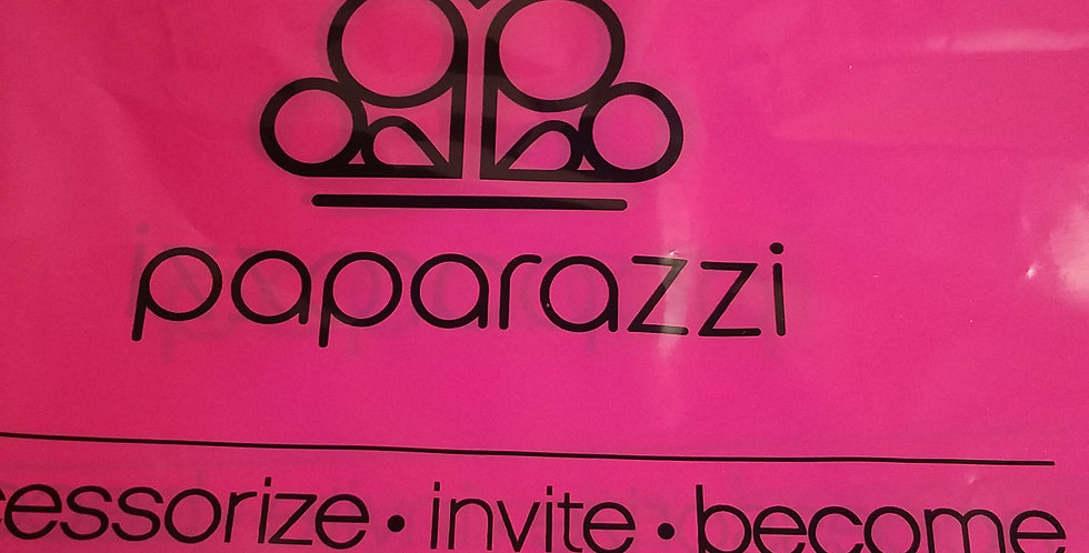 Plastic Paparazzi pink bags-I am NOT a consultant
