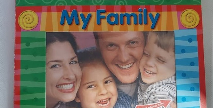 My Family A Picture me photo Memory Book by Merry North