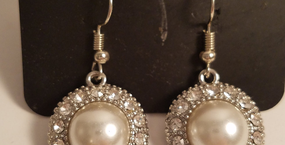 White Pearl Radiated-Paparazzi Accessories-I am NOT a consultant