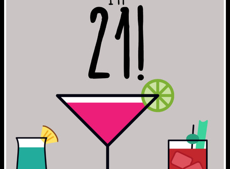 30 Day Challenge Day 29 (8/30/19): Partying like I'm 21