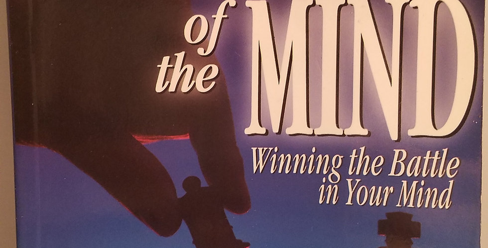 Battlefield of the Mind Winning the Battle in your Mind by Joyce Meyer