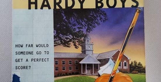 Hardy Boys The Test Case (#171) by Franklin W. Dixon