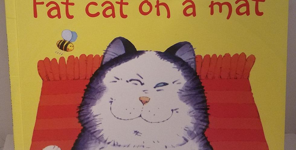 Fat Cat on a mat (usborne Phonics Readers) by Phil Roxbee Cox