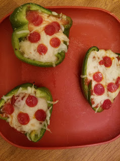 Written in food: Pepper Pizza Low-Carb