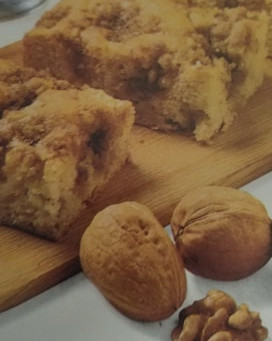 Written in food: Apple-Nut Coffee Cake