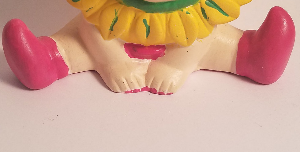 Lil' Ms. Sunflower painted figure