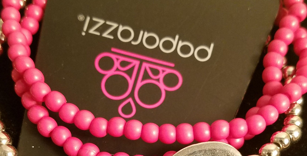 Immeasurably Infinite Pink-Paparazzi Accessories- I am NOT a consultant