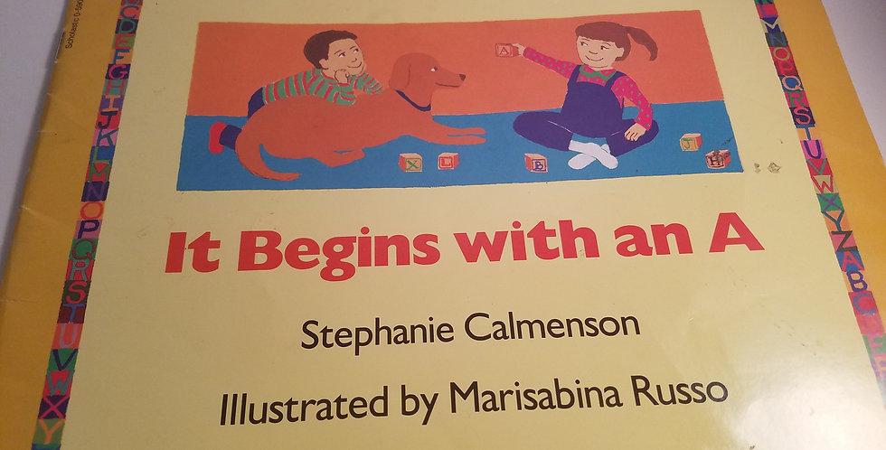 It Begins with an A by Stephanie Calmenson