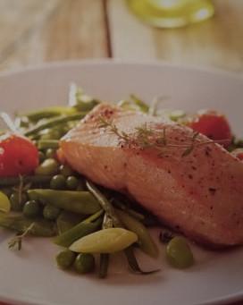 Written in food: Fresh Oven Baked Salmon