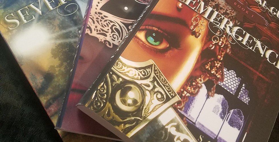 Infernal Guard Series Set-SIGNED- by S.G.D. Singh