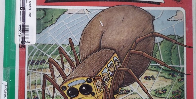 Magic School Bus Spins a Web a book about spiders by Joanna cole