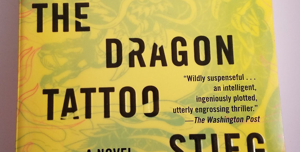 Girl with the Dragon Tattoo, The by Stieg Larsson