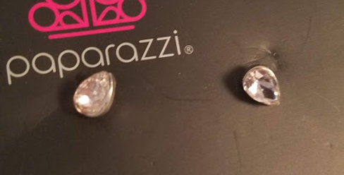 Ice Pink drops-Paparazzi Accessories-I am NOT a consultant