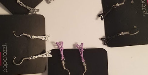 Eiffel Tower kids Earrings-Paparazzi Accessories-I am NOT a consultant