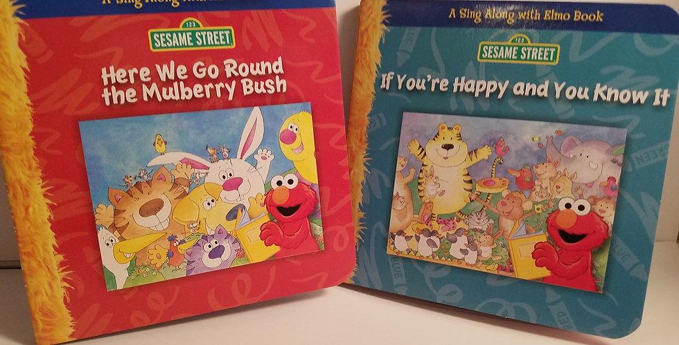 Sesame Street Mini Board Book Sing Along Bundle