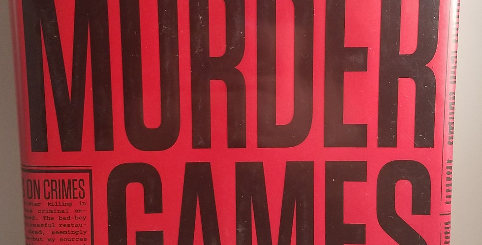 Murder Games (#1) by James Patterson and Howard Rioughan