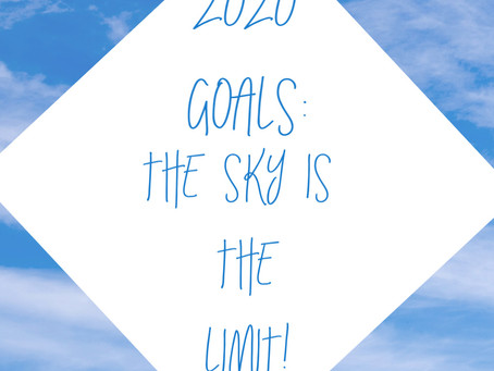 Going for the goal in 2020!