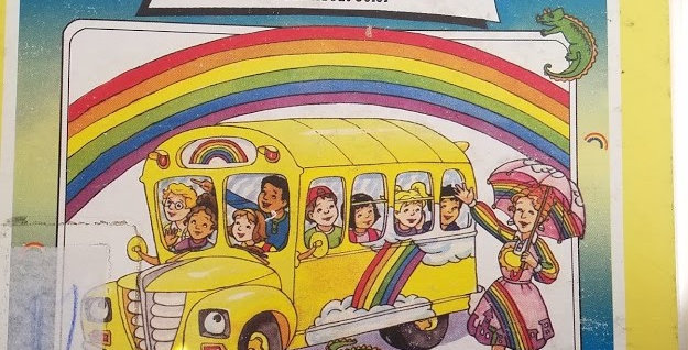 Magic School Bus Makes a Rainbow A book about colors by Joanna Cole