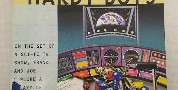 Hardy Boys Trouble in Warp Space (#172) by Franklin W. Dixon
