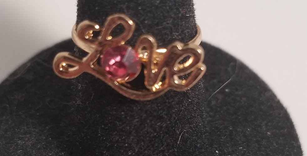 Love is Golden-Paparazzi Accessories-I am NOT a consultant