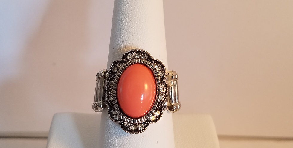 Fall into the Flower wide back ring-Paparazzi Accessories- I am NOT a consultant