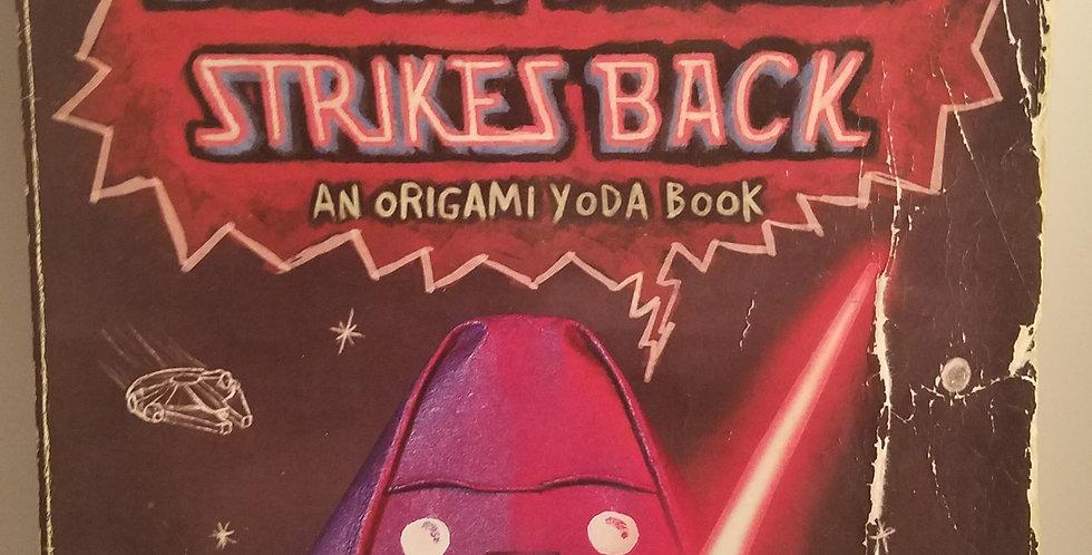 Darth Paper Strikes Back an origami Yoda Book by Tom Angleberger